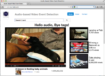 Audio-Based Video Event Detection